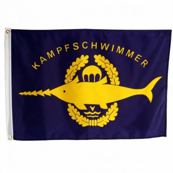 Kampfschwimmer Flagge
