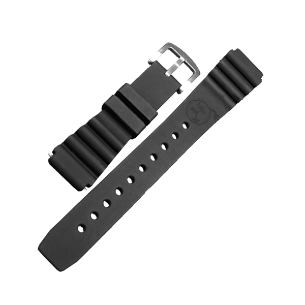 Silikonarmband Taucher 22mm